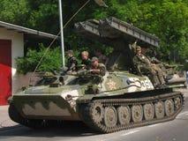 1ò Reunião militar em DarÅowo Imagens de Stock Royalty Free