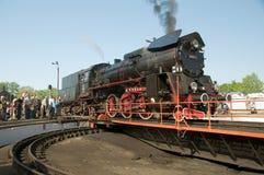 1õ Parada 2009 da locomotiva de vapor - OL 49 Fotos de Stock