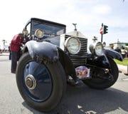 1ø Circuito de competência do vintage de Genoa Foto de Stock