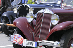 1ø Circuito de competência do vintage de Genoa Imagem de Stock