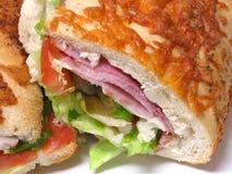 1个三明治 免版税图库摄影