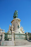 1个乔斯国王雕象 免版税库存图片