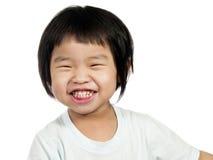 1个亚洲孩子 库存图片