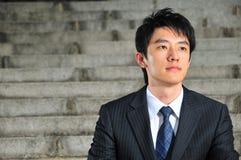1个亚洲行政年轻人 免版税库存照片