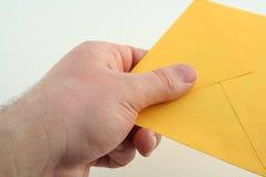 1个信包 免版税图库摄影