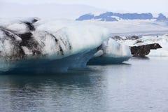 1个冰河湖 免版税库存照片