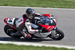 1个加拿大冠军可能零件舍入superbike 免版税库存图片