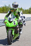 1个加拿大冠军可能零件舍入superbike 库存图片