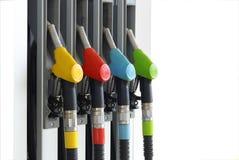 1个加油站 免版税库存图片