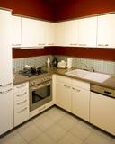 1个厨房现代新的缩放比例 免版税库存图片