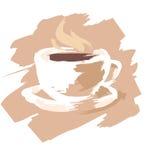 1个咖啡杯 库存图片