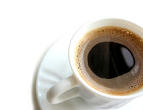 1个咖啡杯 免版税库存图片