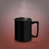 1个咖啡杯v 免版税库存图片