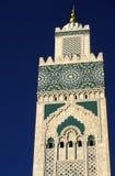 1个哈桑ii清真寺 库存照片