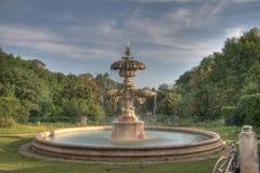 1个喷泉 免版税库存照片