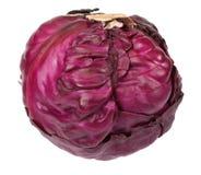 1个圆白菜红色 免版税库存照片
