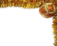 1个圣诞节框架 免版税库存照片