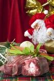 1个圣诞节超级市场 库存照片