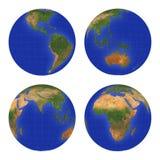 1个地球视图 免版税图库摄影