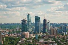 1个城市莫斯科 库存图片