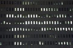 1个大厦办公室视窗 库存图片