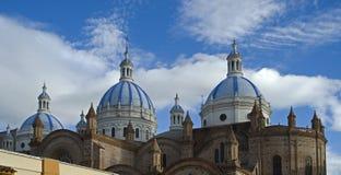 1个大教堂cuenca 库存照片