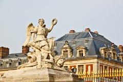 1个大理石宫殿雕塑凡尔赛 免版税库存图片