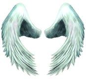 1个天使六翼天使翼 皇族释放例证