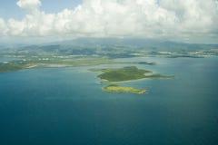 1个天线海岛 图库摄影