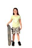 1个女孩年轻人 免版税库存照片