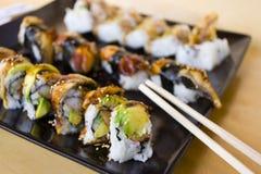1个寿司 免版税库存照片