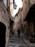 1个小村庄中世纪普罗旺斯 免版税图库摄影
