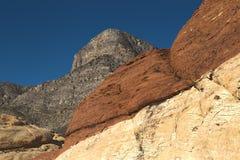 1个峡谷hdr红色岩石 免版税库存照片
