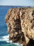 1个峭壁岩石 库存图片