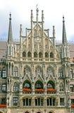 1个市政厅慕尼黑 免版税库存照片