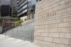 1个市政厅 图库摄影