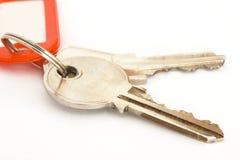 1个房子关键字 免版税库存照片