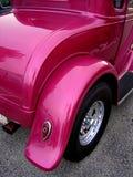1个旧车改装的高速马力汽车 免版税库存照片