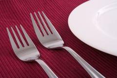 1个晚餐时间 免版税库存图片