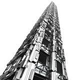 1个未来派摩天大楼 免版税库存照片