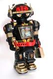 1个机器人玩具 库存照片