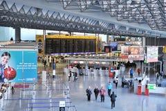 1个机场法兰克福终端 免版税库存照片