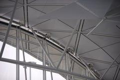 1个机场hk 免版税库存照片