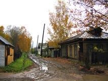 1个村庄 免版税库存照片