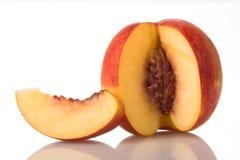 1个桃子 免版税图库摄影