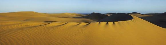 1个沙丘平底锅 免版税库存图片