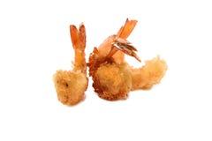 1个油煎的大虾 免版税库存照片