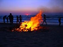 1个海滩corfu 库存图片