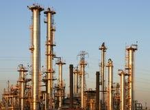 1个炼油厂 库存照片