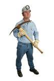 1个煤矿工人镐 免版税库存照片
